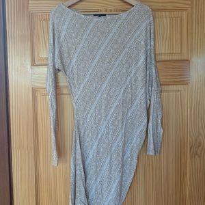 Off the shoulder asymmetrical top/dress